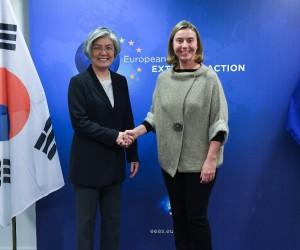 """AB temsilcisi Mogherini: """"Kore Yarımadası'ndan umut verici ve pozitif haberler geliyor"""""""