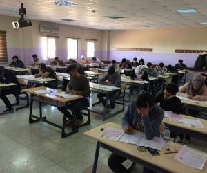 HRÜ'de yabancı uyruklu öğrenci seçme sınavı yapıldı