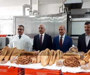 Başkan Gül'den Halk Ekmek Fabrikası'nda inceleme