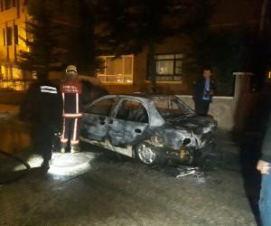Başkent'te kundaklama iddiası
