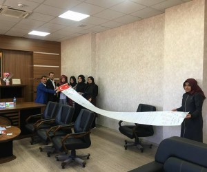 Öğrencilerden Afrin'e mektup