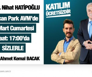 Prof. Dr. Hatipoğlu, Erzincanpark AVM'de sevenleriyle buluşuyor