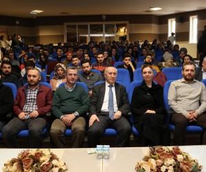 """KBÜ'de """"3. Havalimanı İnşaatında Sürdürülebilirlik"""" konferansı"""