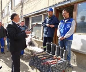 Hisarcık Belediyesi'nde taşeron çalışanlarının işçi statüsüne geçiş sınavı