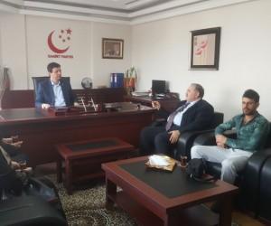 Talasemi ve Lösemililer Derneği Saadet Partisi'ne ziyaret etti