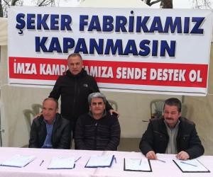 Şeker-İş Kırşehir temsilciliği yeniden imza kampanyası başlattı