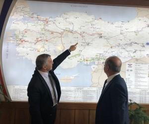 Demir yolu projeleri masaya yatırıldı