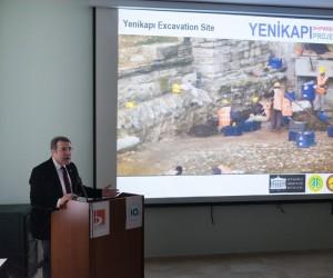 Prof. Dr. Ufuk Kocabaş arkeoloji sohbetlerinin konuğu oldu