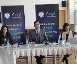 """Şırnak'ta """"Uluslararası Şırnak Enerji ve Maden Çalıştayı"""" düzenlenecek"""