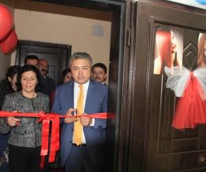 Hakkari'de kadın girişimci iş yeri açtı