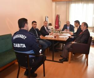 Dursunbey Belediyesi'nde taşeron işçiler için kadro sınavı heyecanı