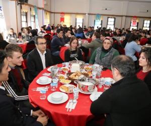 Çayeli'nde şehit aileleri ve gaziler gençler ile buluştu