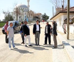 Muratdede Mahallesi'nde üst yapı çalışmaları