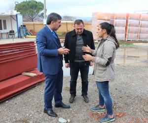 Kepsut'da doğalgaz çalışmaları start aldı