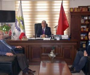 Başkan Albayrak, Ergene Belediye Başkanı Rasim Yüksel ile buluştu
