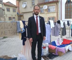 Mahalle muhtarından örnek kampanya
