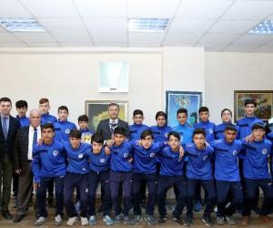 Akdeniz Belediye Spor Kulübü U14 Futbol Takımı şampiyon oldu