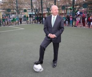 Kocasinan'da ortaokullar arası futbol turnuvası heyecanı başladı