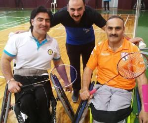 Buca, engelli badminton da Türkiye şampiyonu