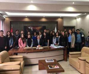Öğrencilerin adliye ziyareti
