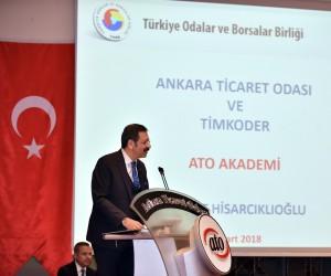 TOBB Başkanı Hisarcıklıoğlu'ndan girişimcilere tavsiyeler