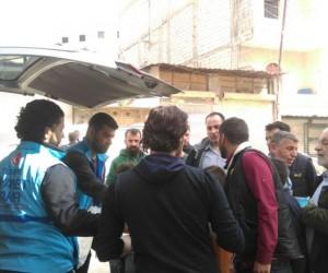 Türkiye Diyanet Vakfından Afrin'e yardım