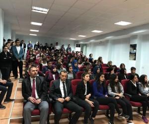 Vedat Topçuoğlu Lisesi Süleyman Beledioğlu'nu ağırladı