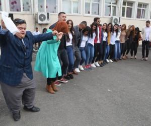 Silopi'de Down sendromlu çocuklar eğlendi