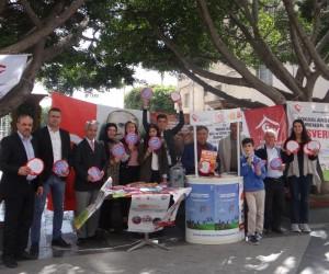 Mersin'de 'çocuk işçiliğine son' standı