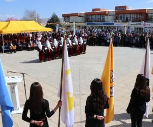 İnönü'de Nevruz ateşi