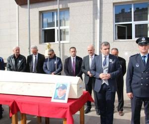 Vefat eden belediye personeli son yolculuğuna uğurlandı