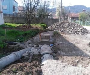 Akyazı'da alt yapı çalışmaları hızla devam ediyor
