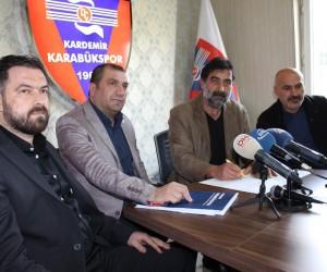 Karabükspor'da Ünal Karaman dönemi resmen başladı