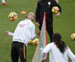 Galatasaray'da Trabzonspor maçı hazırlıklarına eksik başladı