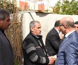 Vali Demirtaş, muhtar ve vatandaşlarla buluştu