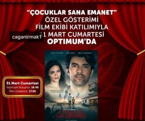 """""""Çocuklar Sana Emanet"""" filminin oyuncuları Adana'ya geliyor"""