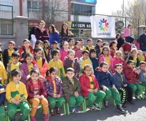 Kocasinan'da Nevruz Bayramı kutlamalarını çocuklar düzenledi