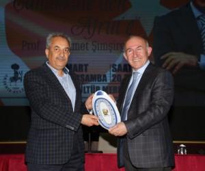 Prof. Dr. Şimşirgil, 'Çanakkale'den Afrin'e' konusunu anlattı
