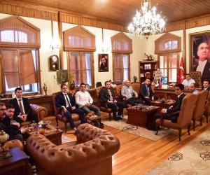 Başkan Yağcı'dan istişare toplantısı