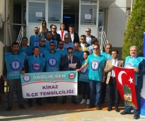 """Başkan Özdemir'den Türk Sağlık-Sen'e """"Hodri meydan"""""""