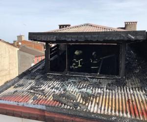 Ordu'da çatı katı yangını