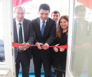 Çarşamba köyünde modernize edilen sağlık evi hizmete açıldı