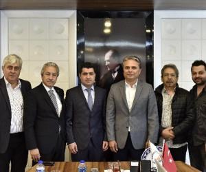 TSYD'den Başkan Uysal'a ziyaret