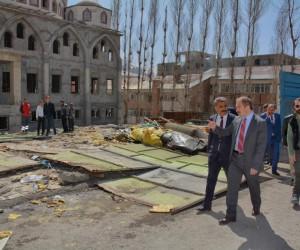 Hakkari Ulu Camii çevresinde büyük dönüşüm başlıyor