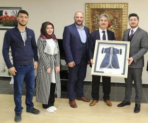 Başkan Şirin, MAGİAD'ı ağırladı