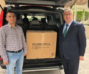 Başkan Yüksel'den Afrin'deki Mehmetçiklere destek
