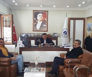 Orman İşletme Şefi Ayar'dan Başkan Yalçın'a ziyaret