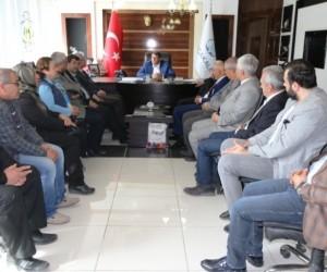 Sivil toplum kuruluşlarından Başkan Ayhan'a ziyaret
