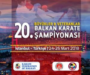 Balkan Karate Şampiyonası İstanbul'da