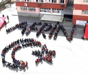 Akşehirli öğrencilerden Zeytin Dalı Harekatına destek